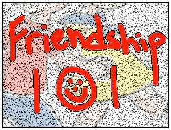 Bible 101 powerpoint templates friendship 101 friends boys girls children play red graffiti wall hold hands toneelgroepblik Gallery